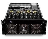bold. Mining Rig Computer • 8X RX 470 • optimierter GPU-Miner für Crypto-Währungen • Ethereum • Monero • zCash • Bitcoin Gold • Litecoin • mit Mining Software Plug & Mine • Mining Server