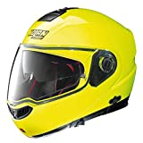 Nolan N104 Absolute HI-Visibility Klapphelm Motorrad Polycarbonat n-com - Fluo gelb Größe L