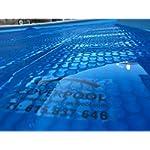Pellicola Solare Termica per Piscina 2x8 metri Geo Bubble 400µ non rinforzato