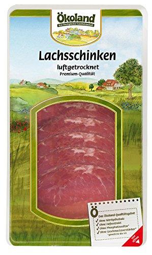 Ökoland Bio Prem. Lachsschinken luftgetrocknet (6 x 80 gr)