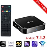 winbuyer x96 Mini Android TV Box Android 7.1 4 K Smart TV Box 64bit Quad Core CPU 2 GB + 16 GB with WIFI