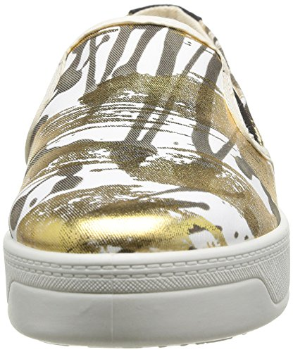 Terrenal Donna Oro 8010 basse Shoes Gold Sneaker Desigual AwIF65qP