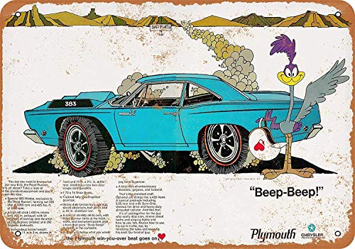Sary buri Metal Tin Sign Poster Plymouth Runner Shop Family Plaque Wandkunst Garage Club Bar Dekoration