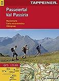 KOKA113 Kombinierte Wanderkarte Passeier (Kombinierte Sommer-Wanderkarten Südtirol) (Kombinierte Sommer-Wanderkarten Südtirol / Topografische Karte + 3D-Panoramakarte)
