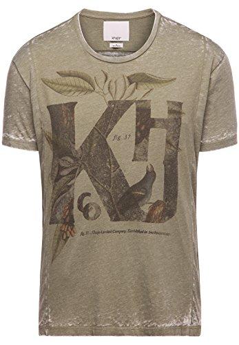 khujo Herren Shirt TELEK 2306SH161_320 grün (320 OLIVE)