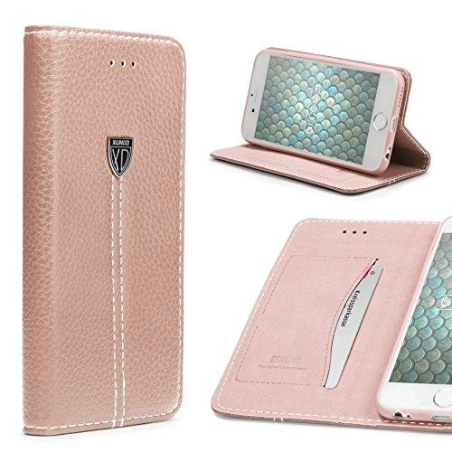 Coque iPhone 6 / 6s, Urcover Touch Case Full Body [Tactile 360 degrés] Étui Apple iPhone 6 / 6s Téléphone Smartphone Housse Bumper Rose Dorée Antichoc Rose Dorée
