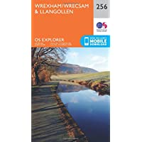 OS Explorer Map (256) Wrexham