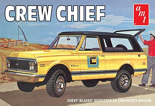 AMT 1&8239;: 25 Scale Chevy Blazer Chef d'équipe modèle kit   Des Technologies Sophistiquées