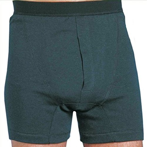 MARTEX WASHABLE ABSORBENT INCONTINENCE BOXER SHORTS - Herren Inkontinenz Hose (XX groß) (Ausgestattet Shorts Boxer)