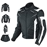 A-Pro Motorcycle Jacket CE Armored Textile Motorbike Racing Thermal Liner