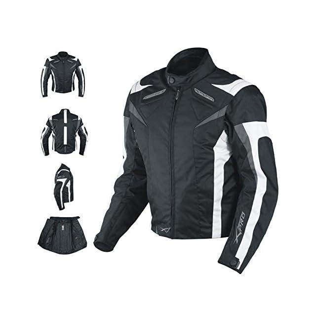 A-pro Veste de moto sport avec protections homologuées CE, gilet thermique,  ... f996cffcfabd