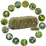 Jumbogras® Bio-Heuballen: Qualitäts-Kleintier-Futter, Heu für Kaninchen/Hasen und Nager aus dem österreichischen Alpenvorland (1 x Heuballen 8-10 kg, 1. Schnitt)