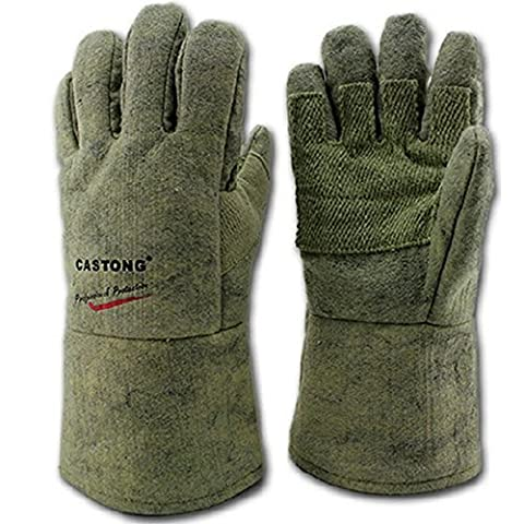 JOYOOO 500 Degrees High Temperature Insulation Gloves Welding Finger Heat Shield by JOYOOO