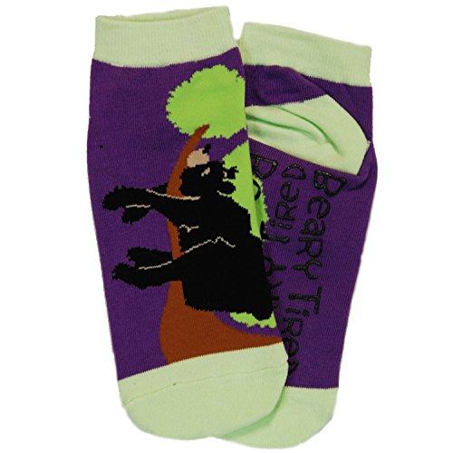 Lazy One Unisex Beary Tired Adult Slipper Socks One Size