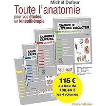 Anatomie de l'appareil locomoteur. Anatomie des organes et des viscères. Pack des 4 tomes: Pack 4 Tomes