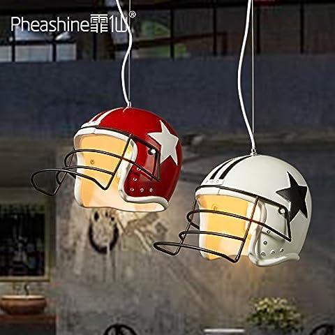 VanMe Nordic Minimalist Helmet Resin Pendant Modern Minimalist Bars Cafes