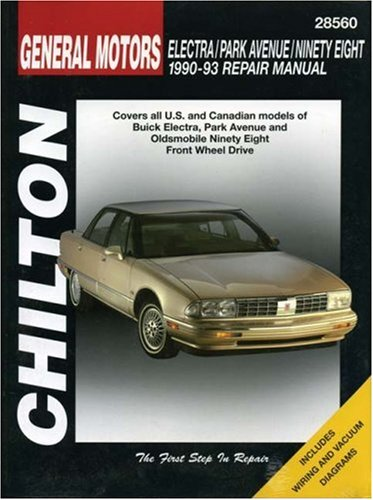gm-electra-park-avenue-ninety-eight-1990-93-chiltons-total-car-care-repair-manuals