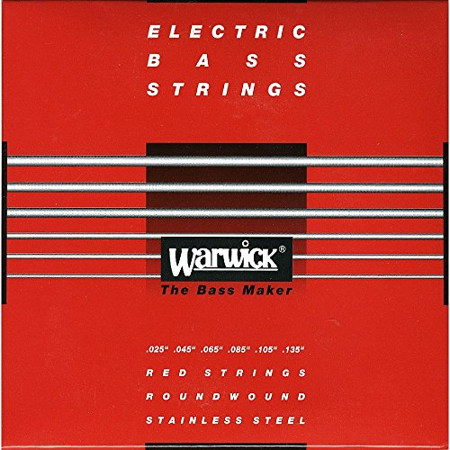 Warwick RED Strings Stainless Steel Bass Saiten 6-String Medium .025-.135
