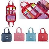 ShopSquare64 ShopSquare64 Outdoor-Reise-Aufbewahrungstasche Wasserdicht Hanging Organizer Holder Kosmetik Wash Gargle Container