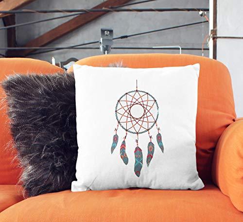 Funda de cojín con diseño de atrapasueños de 565 pir para decoración del hogar, Bohemio, para Interiores, sofá, Funda de cojín con diseño Tribal Indio, Funda de Almohada con Estampado Bohemio P103