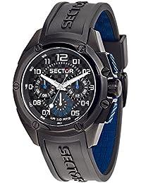 Sector Herren Uhrenbeweger Collection 950 Silikon schwarz R3251581001