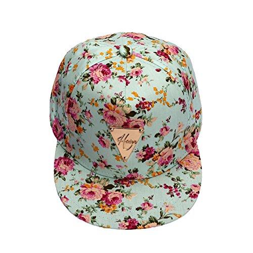Cappellino Hip Hop - LATH.PIN Cappellino da Baseball Donna Sole Spiaggia Cappelli con Stampa Berretto Estivo