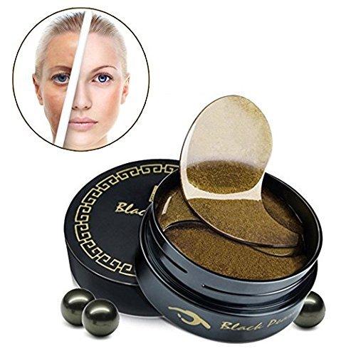 60Pcs Kollagen Kristall Augenmaske Augen Pads Eye pads, Anti Aging Falten Dunkler Kreis Feuchtigkeitsspendende Haut Patch (Kollagen-patches)