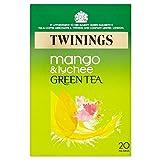 Twinings Grüner Tee, Mango & Lychee (20) - Packung mit 6