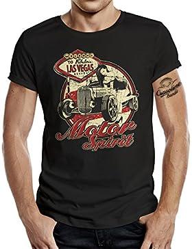 GASOLINE BANDIT® Biker T-Shirt: Motor Spirit