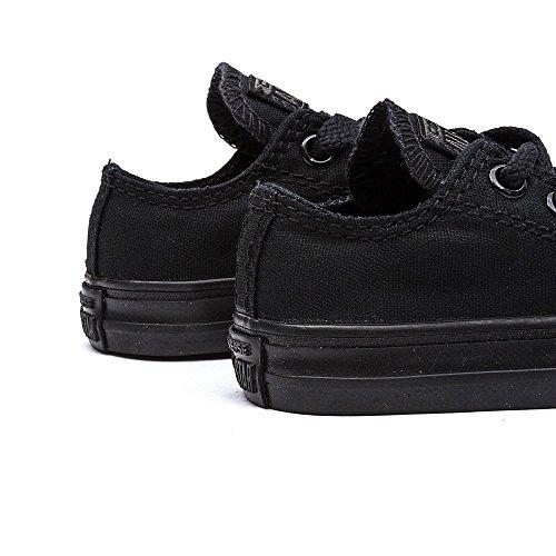 Converse Chuck Taylor All Star-Sneaker-Scarpe per bambini, colore: nero Nero (Black Mono)