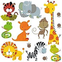 Hergon lovely Animal patch per bambini Clothe DIY adesivi, Iron On patch badge applique per borsa cappello jeans patch applique Decor,97#