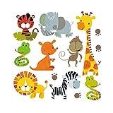 Hergon Lovely Animal patches pour enfants Clothe de DIY Stickers, Iron on Patch badge Applique pour sac Chapeau Jeans Patch Applique Décor, 97#