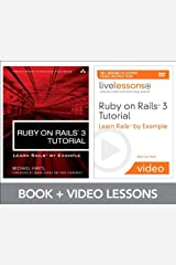 Ruby on Rails 3 Tutorial LiveLessons Bundle: Learn Rails by Example by Michael Hartl (31-Jan-2011) Paperback Paperback