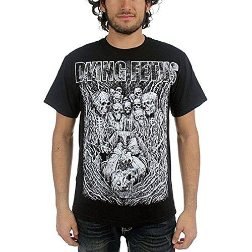 Planet Caravan Dying Fetus Treachery T-Shirt (Large) - Nero