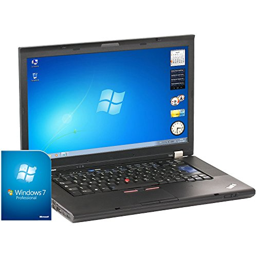 'Lenovo ThinkPad T510 – portatile da 15.6, Intel Core i5 – 560 M, 4 GB di RAM, Disco HDD da 250 GB, Intel HD Graphics, Windows 7), Nero