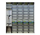 TM: 13153: Hager Zählerschrank 2x 3.HZ Zähler + 4x Verteiler 1400mm ZB55S