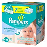 Pampers Baby Fresh Baby Wipes 7x Pop-top...