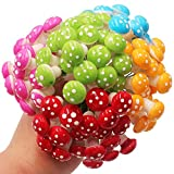 51e1rgulcBL. SL160  UK BEST BUY #1GABBREIN 100pcs Miniature Fairy Garden Ornaments Mushrooms Set for 7 Color with Box (100) price Reviews uk