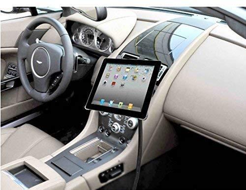 LEDELI CD Schacht KFZ Auto Tablet PC Halterung Handy Smartphone Magnethalterung Autohalterung für Armaturenbrett Kopfstützenhalterung (für Sitzschienen) (Hubschrauber I Phone)