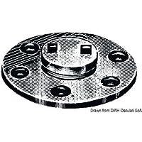 Osculati Tappo scarico ottone cromato 20 mm (Chromed Brass Water Drain Plug 20 mm)