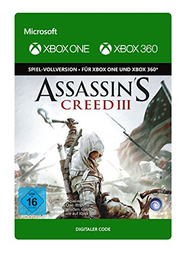 Assassin's Creed III | Xbox One/360 - Download Code - Creed Xbox One Assassins