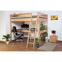 suchergebnis auf f r hochbett 140x200 erwachsene. Black Bedroom Furniture Sets. Home Design Ideas