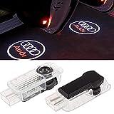 ZNYSTAR Einstiegsbeleuchtung LED Tür Lampe Türbeleuchtung Ghost Shadow Logo Autotür Logo 1 Paar