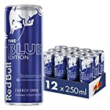 Red Bull Energy Drink, Blue Edition, 250ML (12-pak)