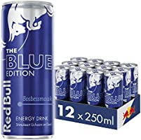 Red Bull Energy Drink, Blue Edition, 250ML (12-pack) 3,33 kg