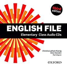 English File: Elementary: Class Audio CDs (English File Third Edition)