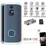 Best Video Doorbells - Video Doorbell with Chime, Womdee IPX7 Waterproof Wireless Review