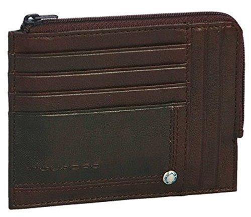 Piquadro Geldbörse mit Münzen braun Jazz PU1243W17/M