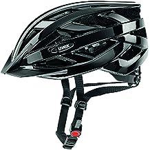 Uvex IVO - Casco de ciclismo, color negro, talla 52-57