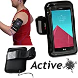 Navitech brassard ROSE smartphone sport jogging vélo résistant à l'eau, convient CROSSCALLTREKKER X2